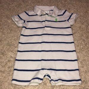 Ralph Lauren | boy onesie